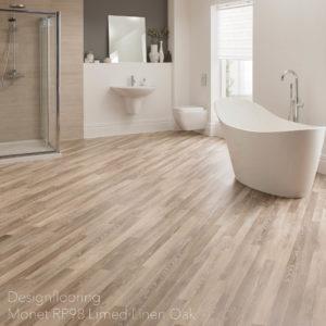 podłogi-do-łazienki-panele-winylowe-DesignflooringMonetRP98LimedLinenOak