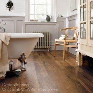 podłogi-do-łazienki-panele-winylowe-DesignflooringVan Gogh VGW86T Classic Oak