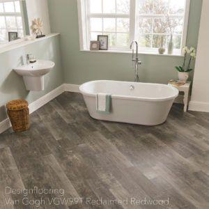 podłogi-do-łazienki-panele-winylowe-DesignflooringVan Gogh VGW99T Reclaimed Redwood