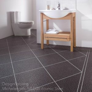 podłogi-do-łazienki-panele-winylowe-DesignflooringMichelangelo MLC08 Atomic Steel
