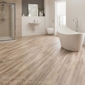 podłogi-do-łazienki-panele-winylowe-DesignflooringMonet RP98 Limed Linen Oak