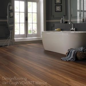 podłogi-do-łazienki-panele-winylowe-DesignflooringVan Gogh VGW87T Walnut