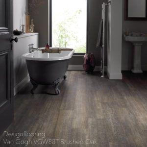 podłogi-do-łazienki-panele-winylowe-DesignflooringVan Gogh VGW88T Brushed Oak